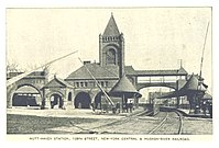 Mott Haven station of New York Central, 138th St