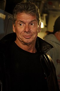 Vince McMahon, the owner, chairman and CEO of the WWE since 1982
