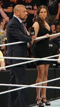 Current WWE minority owners/front office executives/wrestlers Triple H and his wife Stephanie McMahon
