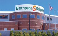 Bethpage Ballpark, home of the Long Island Ducks minor league baseball team
