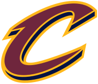 The current secondary logo for the Cleveland Cavaliers.