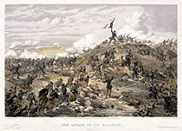 The French capture of Russian positions around Sevastopol brought the end of the Crimean War.