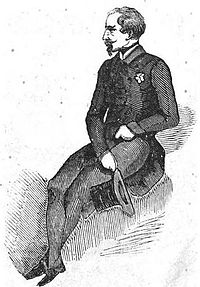 Louis Napoleon as a member of the National Assembly in 1848. He spoke rarely in the Assembly, but, because of his name, had enormous popularity in the country.
