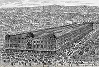 Among the commercial innovations encouraged by Napoleon III were the first department stores. Bon Marché opened in 1852, followed by Au Printemps in 1865.