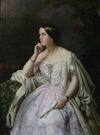Louis Napoleon met the wealthy heiress Harriet Howard in 1846. She became his mistress and helped fund his return to France.