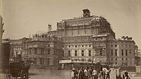 """The Paris Opera was the centerpiece of Napoleon III's new Paris. The architect, Charles Garnier, described the style simply as """"Napoleon the Third""""."""