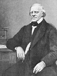 François-Vincent Raspail, leader of the left wing of the socialist deputies in the Second Republic, who led an attempt to overthrow Louis Napoleon's government in March 1849. He was imprisoned, however Napoleon III commuted his imprisonment to an exile and we was allowed back into France in 1862