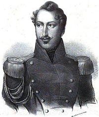 Louis Napoleon at the time of his failed coup in 1836