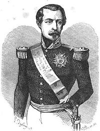 The Prince-President in 1852, after the coup d'état
