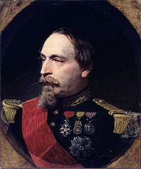 Portrait of Napoleon III in 1868 by Adolphe Yvon