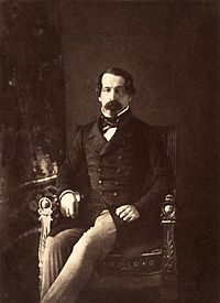 Photographic portrait of Louis Napoleon (1852) by Gustave Le Gray