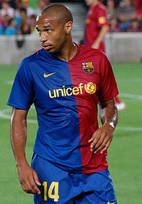 Henry at Barcelona in 2008