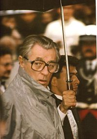 Mitchum at the 1991 Cannes Film Festival