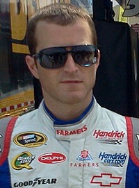 Kasey Kahne, seen here in 2012, scored the pole for the race.