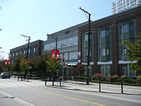 The SUCCESS Simon K.Y. Lee Seniors Care Home in Chinatown, Vancouver