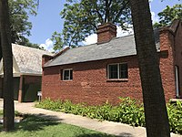Former slave quarters at the Hale–Elmore–Seibels House in downtown Columbia.