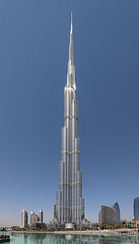 Burj Khalifa is the tallest human-made structure in the world.