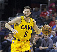 Love with the Cavaliers in November 2014