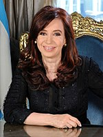 Cristina Fernández de Kirchner served as President of Argentina from 2007 to 2015