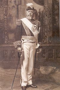President Julio Argentino Roca, the central political figure of the PAN Hegemony years.