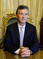Mauricio Macri served as President of Argentina from 2015 to 2019.