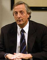 Néstor Kirchner served as President of Argentina from 2003 to 2007, his presidency marked the ideology called Kirchnerism