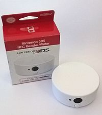 A Nintendo 3DS NFC Reader/Writer, which enabled Amiibo for the 3DS, 3DS XL, and 2DS