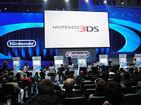 The Nintendo 3DS E3 2010 unveiling involved an elaborate stage with moving set pieces.