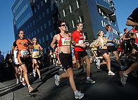 The Berlin Marathon is the world record course