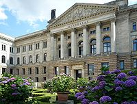 Prussian House of Lords, the seat of the Bundesrat of Germany