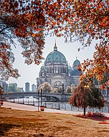 The Berlin Cathedral at Museum Island
