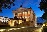 The Alte Nationalgalerie is part of the Museum Island, a UNESCO World Heritage Site.