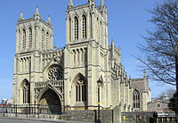 West front of Bristol Cathedral