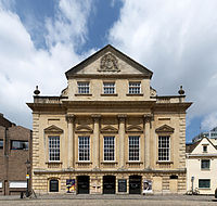 The Coopers Hall, entrance to the Bristol Old Vic Theatre Royal complex