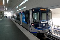 The Miami Metrorail is the state's only rapid transit system. About 15% of Miamians use public transit daily.
