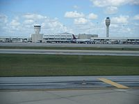 Orlando International Airport is the busiest airport in the state with 44.6 million total passengers traveled in 2017.