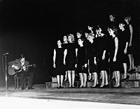 A singing competition in Texas in 1966