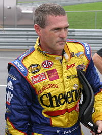 Bobby Labonte (pictured in 2006) had the twenty-fifth pole of his career.