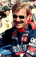 Dale Jarrett finished second behind Gordon by only 14 points