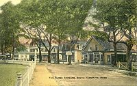 The Three Corners in South Yarmouth c. 1910