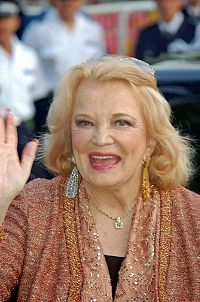 Rowlands at the 2006 Cannes Film Festival