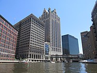 Downtown Milwaukee from the Milwaukee River