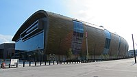 Fiserv Forum, home of the Bucks and Golden Eagles