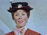 Andrews in Mary Poppins (1964), for which she won the Academy Award for Best Actress