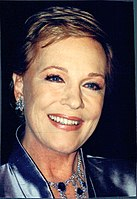 Andrews pictured in 2001, the year she starred as Queen Clarisse Marie Renaldi in The Princess Diaries