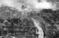 Kyiv suffered significant damage during World War II, and was occupied by the Germans from 19 September 1941 until 6 November 1943.