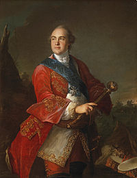 Kirill Razumovski, the last Hetman of left- and right-bank Ukraine 1750–1764 and the first person to declare Ukraine to be a sovereign state