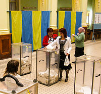 In the modern era, Ukraine has become a more democratic country.