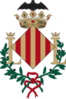 Coat of arms of the city of Valencia.