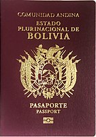 Visa requirements for Bolivian citizens